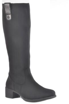 dav Manhattan Tall Waterproof Women's Rain Boot Women's Shoes
