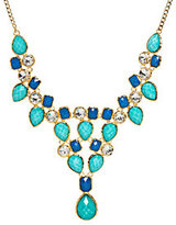 Amrita Singh As Is Simulated Turquoise & Lapis Necklace
