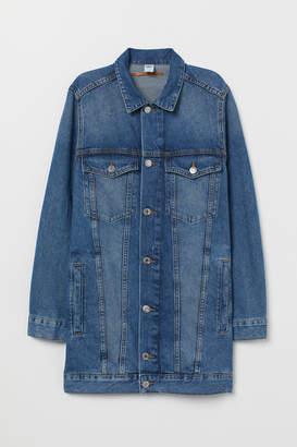 H&M Long Denim Jacket