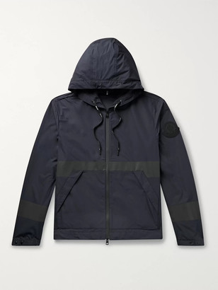 Moncler Adour Reflective-Trimmed Shell Hooded Jacket