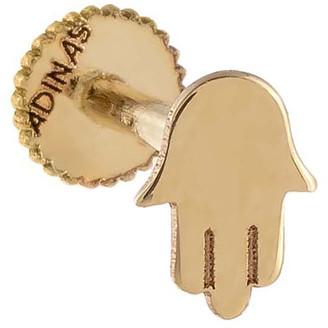 Adina's Jewels Solid 14k Gold Hamsa Single Stud Earring