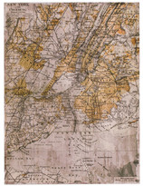 Torre & Tagus Vintage NY Map - 24x32