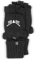 Karl Lagerfeld Choupette Black Wool Blend Gloves