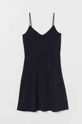 H&M Flared jersey dress