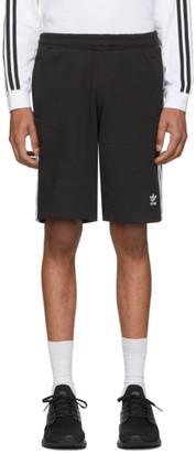 adidas Black 3-Stripes Shorts