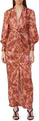Significant Other Claribell Floral Long Sleeve Maxi Dress