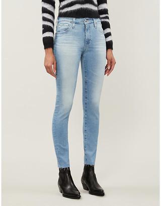 AG Jeans Farrah Skinny Ankle high-rise jeans