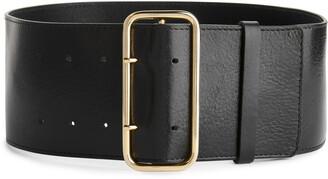Arket Wide Leather Belt