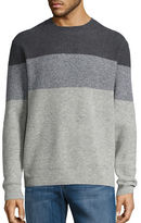 Black Brown 1826 Colorblocked Knit Sweater