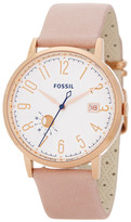 Fossil Women&s Vintage Muse Leather Strap Watch