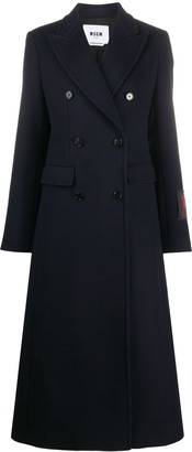 MSGM Double-Breasted Tailored Coat