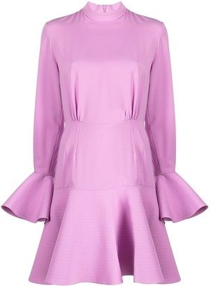 Patou Flounced Mini Dress