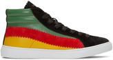 Paul Smith Multicolor Lynn High-top Sneakers