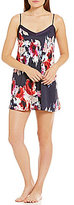 Kate Spade Floral Charmeuse Chemise