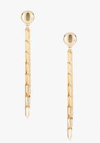 Bebe Flat Link Duster Earring
