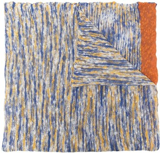 Missoni Knitted Cotton Scarf