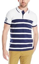 U.S. Polo Assn. Men's Slim-Fit Color-Block Jersey Polo Shirt