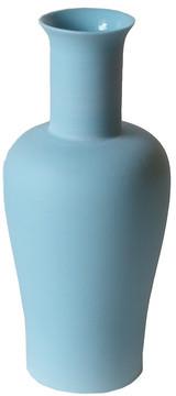 Middle Kingdom Pear Vase Denim Blue