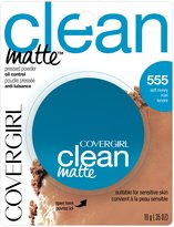 Cover Girl Clean Matte Pressed Powder Soft Honey 10 g