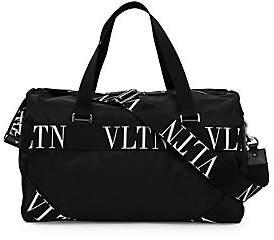 Valentino Men's Garavani VLTN Grid Camoflauge Gym Bag