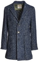 BOB Strollers Men's Blue Acrylic Coat.