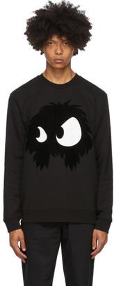 McQ Black Swallow Chester Monster Sweatshirt