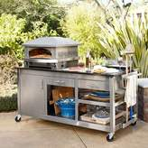 Kalamazoo Artisan Fire Outdoor Pizza Oven & Pizza Station with Pizza Tools