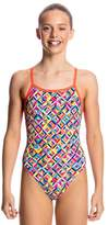 Funkita Girls Flash Bomb Single Strap One Piece