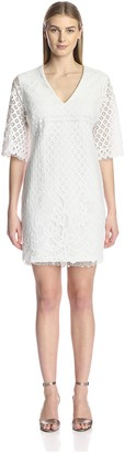 Alexia Admor Women's Embroidered Lace Dress