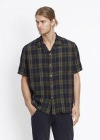 Vince Short Sleeve Cabana Shirt