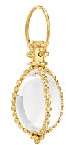 Temple St. Clair 18K Yellow Gold Celestial Crystal & Diamond Small Sassini Amulet
