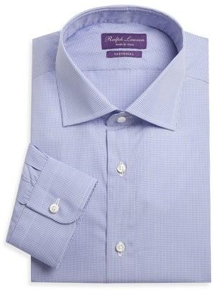Ralph Lauren Purple Label Aston Gingham Sport Shirt