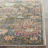 Safavieh SEV814G-28 Sevilla Collection Viscose Runner, 2-Feet 1-Inch by 8-Feet