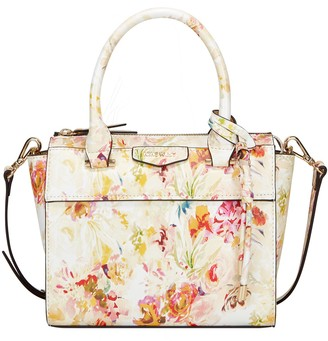 Nine West Floral Satchel Bag - Blair
