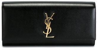 Saint Laurent Kate monogram clutch