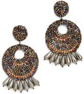 Kenneth Jay Lane Multi Hoop Earrings