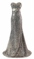 Fanciest Women's 2016 Sequin Prom Dresses Mermaid Evening Gowns US24