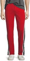 Neil Barrett Break Away Side-Stripe Track Pants