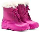 Native Pink Jimmy Winter Faux Fur Water-Resistant Boots