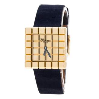 Chopard Ice Cube Blue Yellow gold Watches