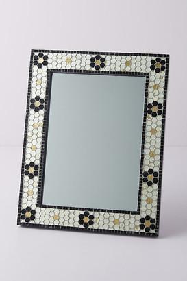 Anthropologie Poppy Petite Mirror By in Black Size XS