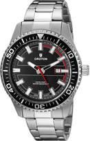 Croton Men's CA301289SSBK Analog Display Quartz Silver Watch