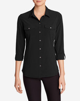 Eddie Bauer Women's Departure Long-Sleeve Shirt