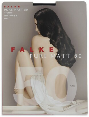 Falke Black Pure Matt 50 Tights