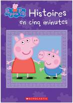 Scholastic Peppa Pig Five-Minute Peppa Stories Book - French Version