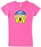 Micro Me Hot Pink Surprise Emoji Tee - Infant Toddler & Girls