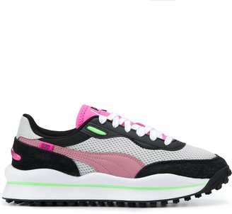 Puma Style Rider Neon low-top sneakers