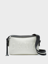 DKNY Neoprene Bonded Lamb Nappa Leather Crossbody