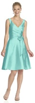 Alfred Sung D624 Bridesmaid Dress in COASTAL