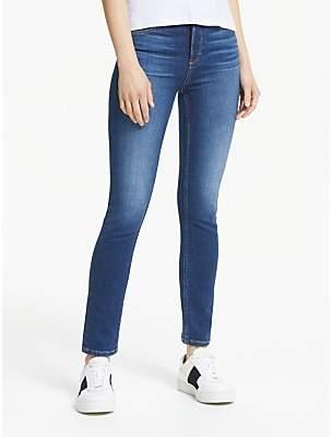 Paige Hoxton Slim Clean Hem Jeans. Hampton